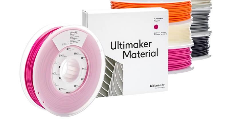 3D printer filament material singapore, printing materials from Ultimaker Singapore