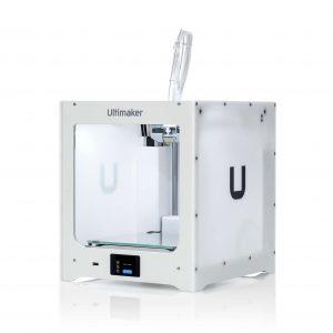 Ultimaker 2+ Connect 3D printer, Singapore, left view